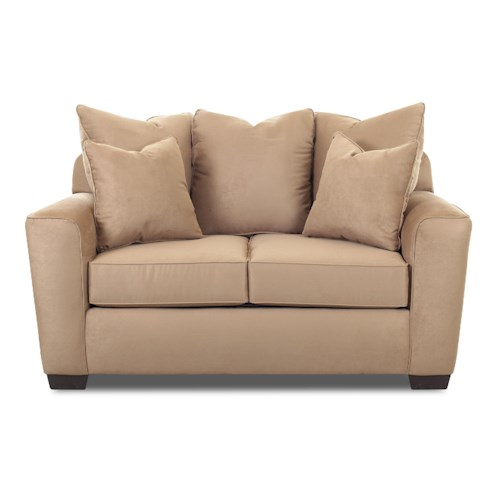 Elliston Place Heather Upholstered Stationary Loveseat