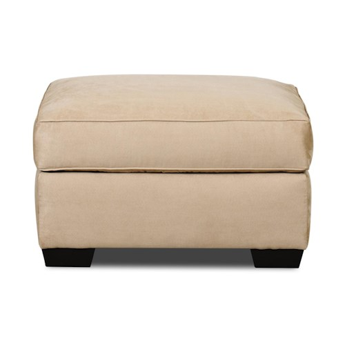 Elliston Place Heather Upholstered Ottoman