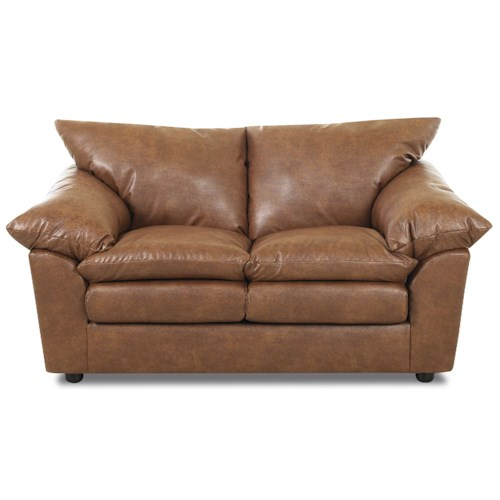Elliston Place Heights Love Seat with Extra Padded Pillow