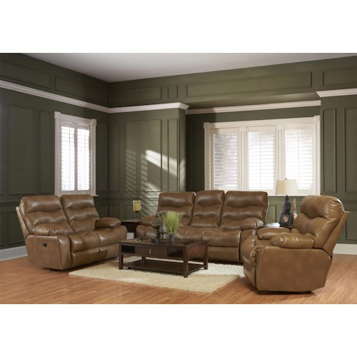 Elliston Place Hercules Casual Living Room Group