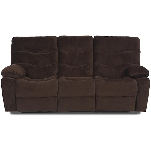 Elliston Place Hercules Casual Power Reclining Sofa