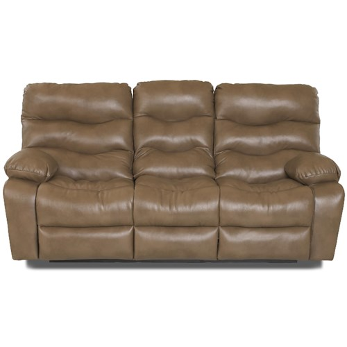 Klaussner Hercules Casual Power Reclining Sofa
