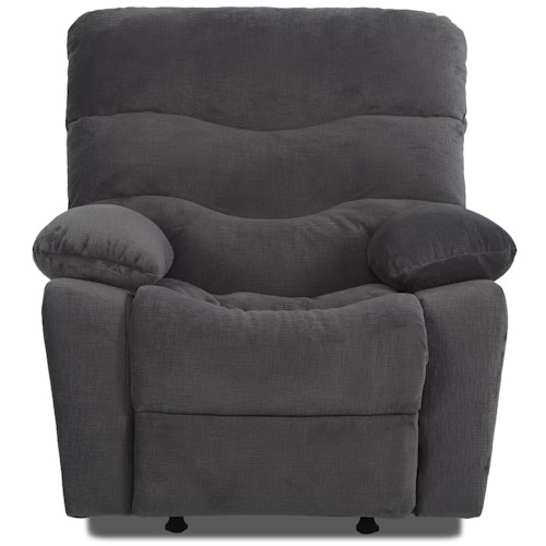 Klaussner Hercules Casual Swivel Rocking Reclining Chair