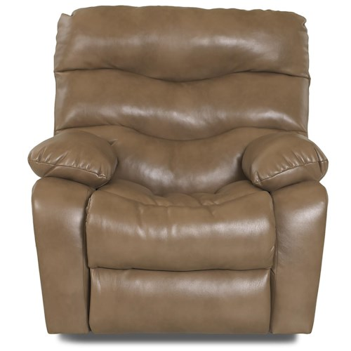Elliston Place Hercules Casual Gliding Reclining Chair