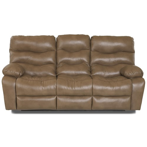 Klaussner Hercules Casual Reclining Sofa