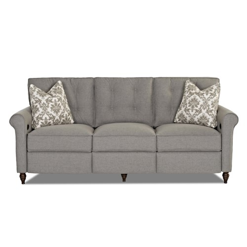 Klaussner Holland Traditional Power Hybrid Sofa