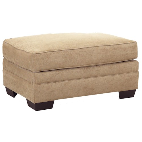 Klaussner Holly Contemporary Ottoman