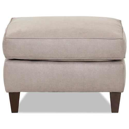 Elliston Place Hopewell  Contemporary Ottoman