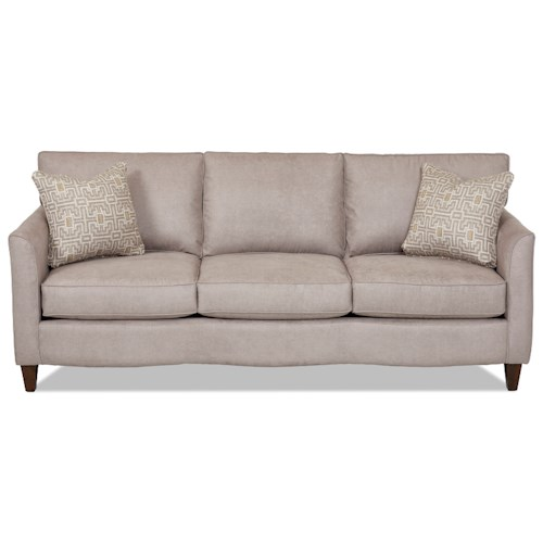 Elliston Place Hopewell  Contemporary Sofa with Loose Cushions