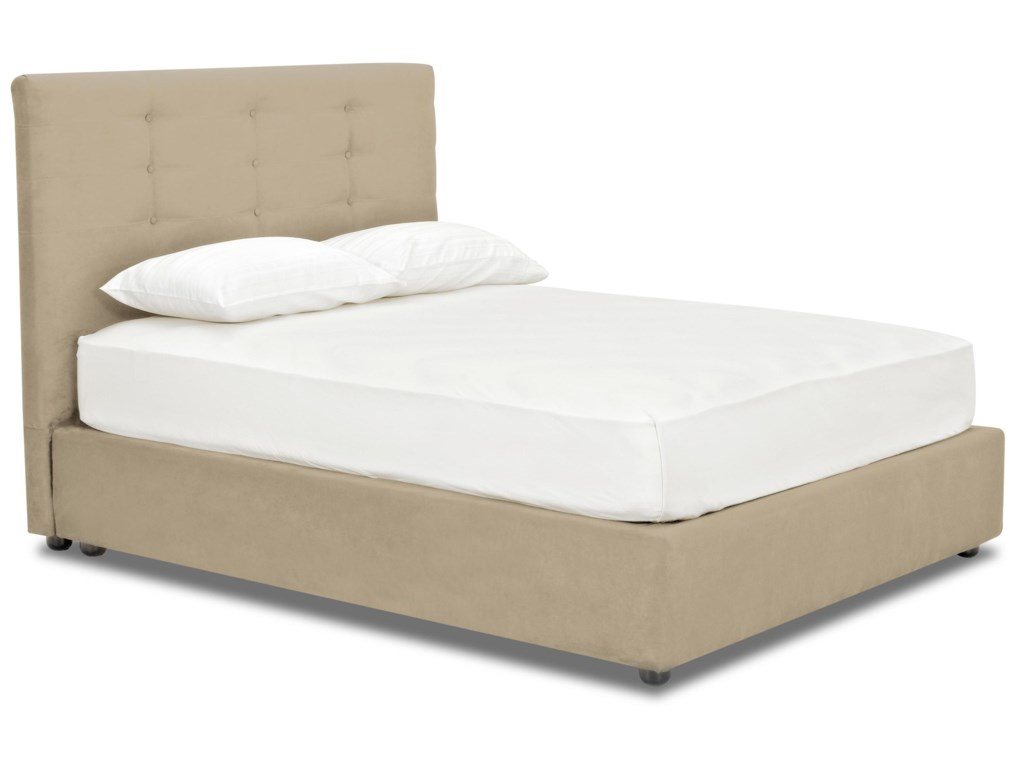 Choose Between a Wide Variety of Fabrics and Leathers to Finish Your Platform Bed With