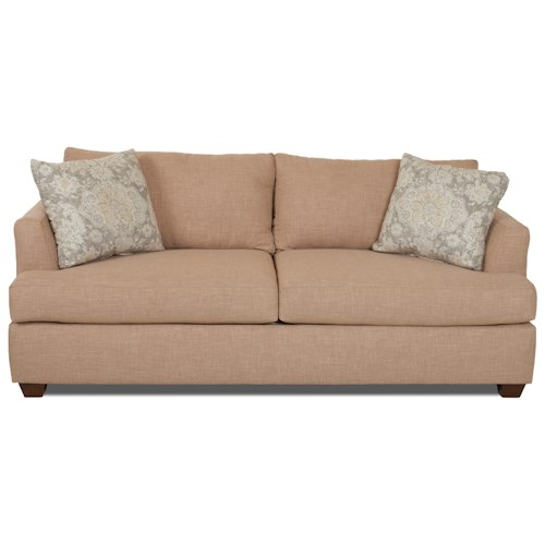 Elliston Place Jack Dreamquest Queen Sleeper Sofa with Track Arms