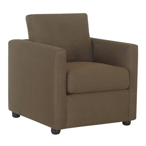Klaussner Jacobs Casual Upholstered Chair