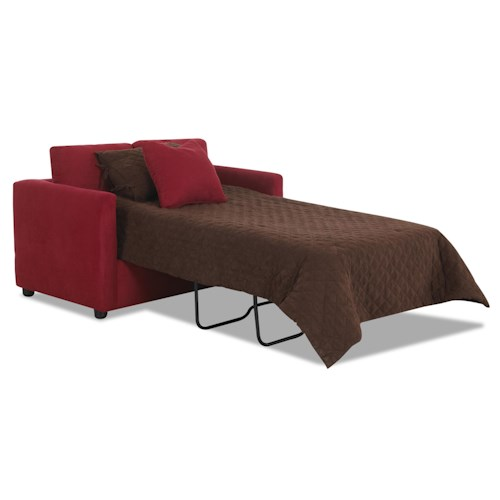 Klaussner Jacobs Casual Twin Sleeper Sofa