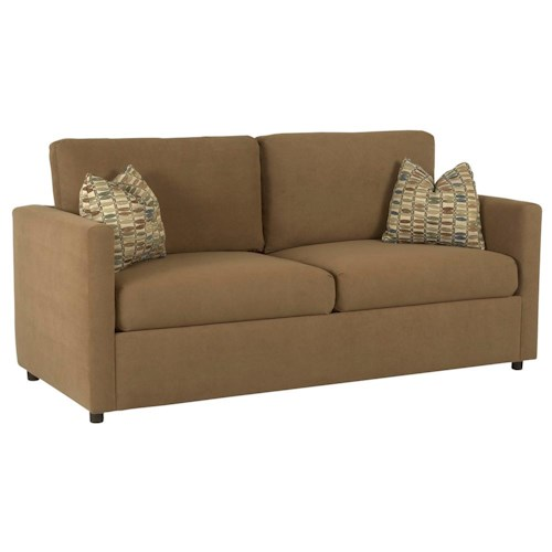 Klaussner Jacobs Casual Queen Sleeper Sofa