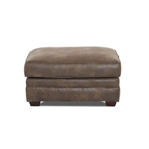 Elliston Place Jasper Traditional Ottoman