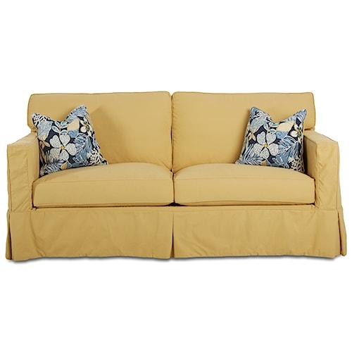 Elliston Place Jeffrey  Enso Memory Foam Sofa Sleeper with Slip Cover