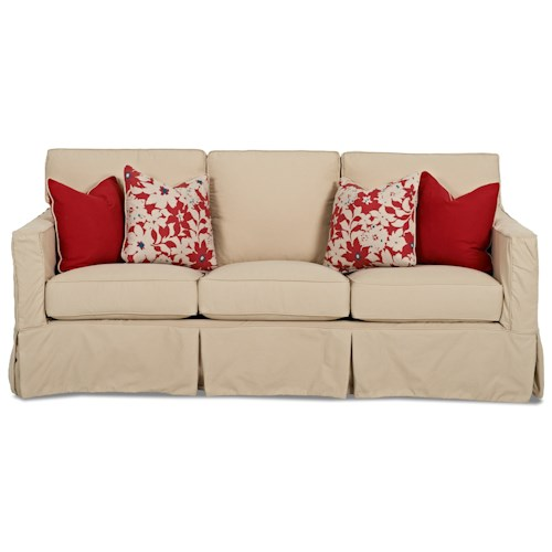 Klaussner Jeffrey  Extra Large Sofa with Slipcover