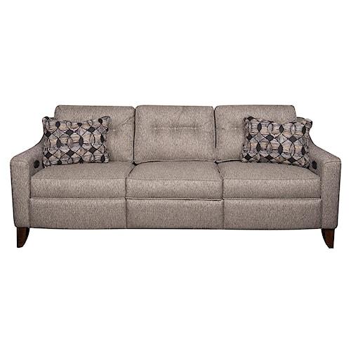 Elliston Place Jolene Power Hybrid Reclining Sofa