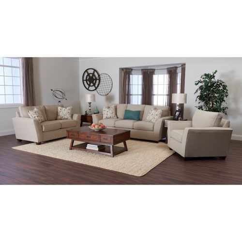 Klaussner Kent Living Room Group