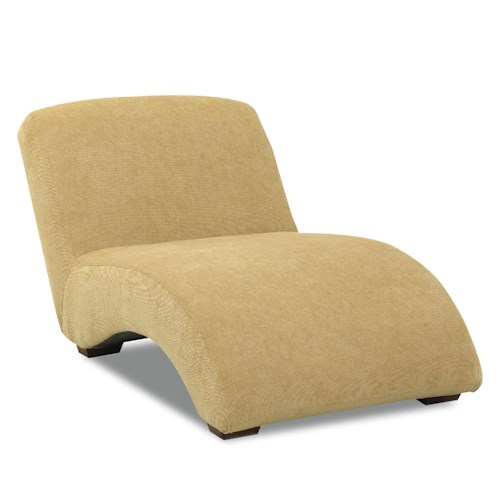 Klaussner Chairs and Accents Oversized Celebration Armless Chaise Lounger
