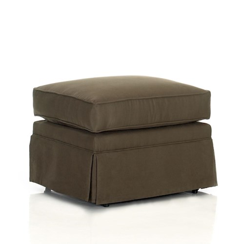Elliston Place Chairs and Accents Carolina Rectangular Ottoman