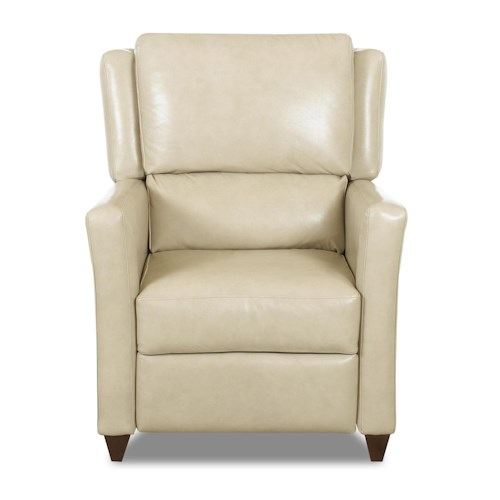Klaussner High Leg Recliners Madra High Leg Reclining Chair