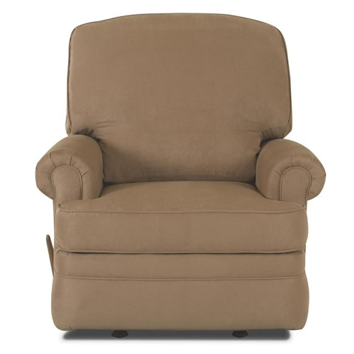 Klaussner Recliners Stanley Rocking Reclining Chair