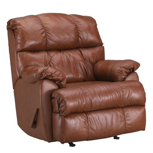 Klaussner Recliners Rugby Rocking Recliner Chair