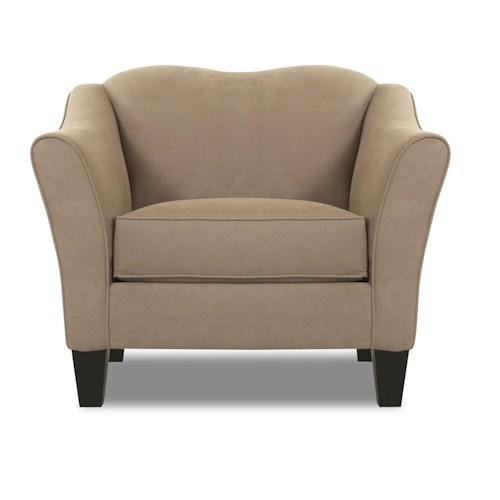 Elliston Place Kris Contemporary Upholstered Stationary Chair