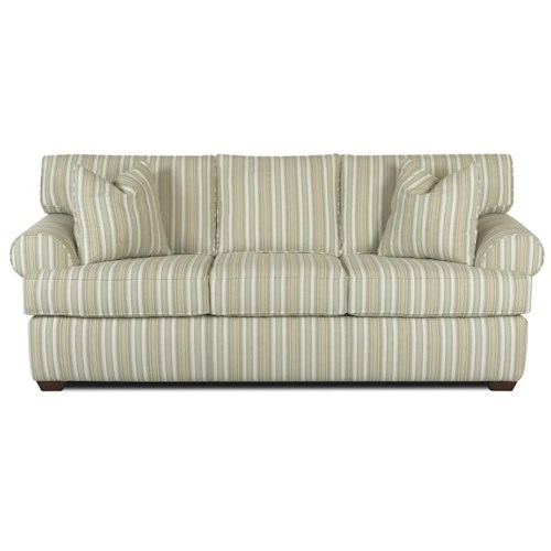 Elliston Place Lady Sofa with Rolled Arms