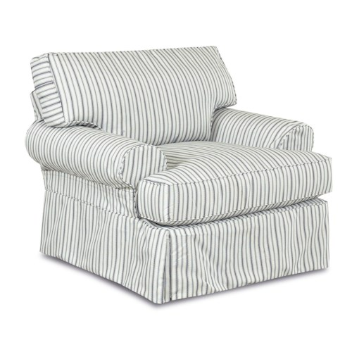 Elliston Place Lahoya Chair with Blend Down Cushions