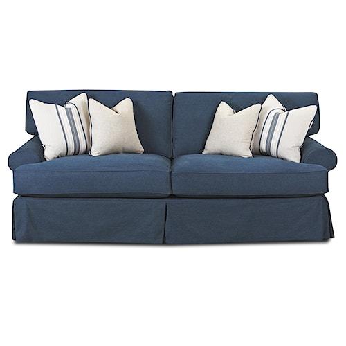 Elliston Place Lahoya Sofa with Blend Down Cushions