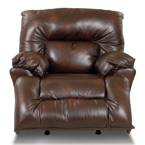 Klaussner Laramie Rocking Reclining Chair with Swivel