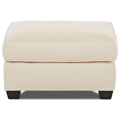 Klaussner Linville Ottoman