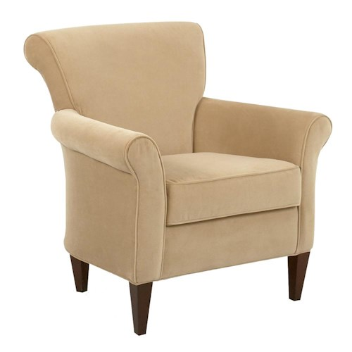 Elliston Place Louise Contemporary Upholstered Chair