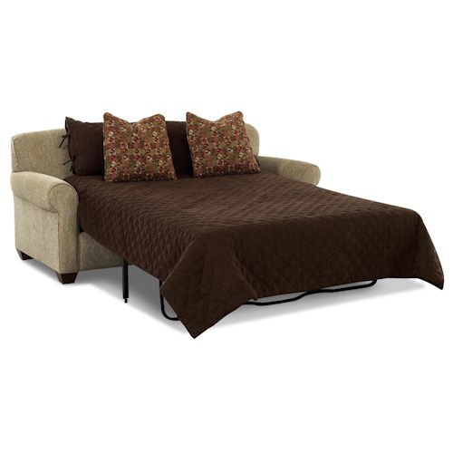Klaussner Mayhew Air Coil Regular Sleeper Sofa