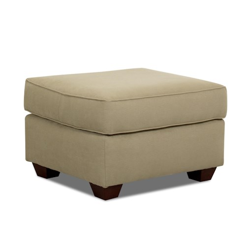 Elliston Place Mayhew Upholstered Ottoman