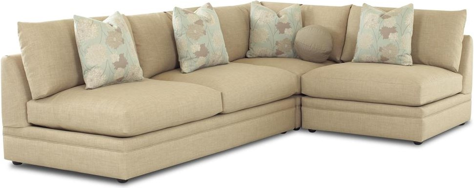 Shown with Armless Love Seat and Corner