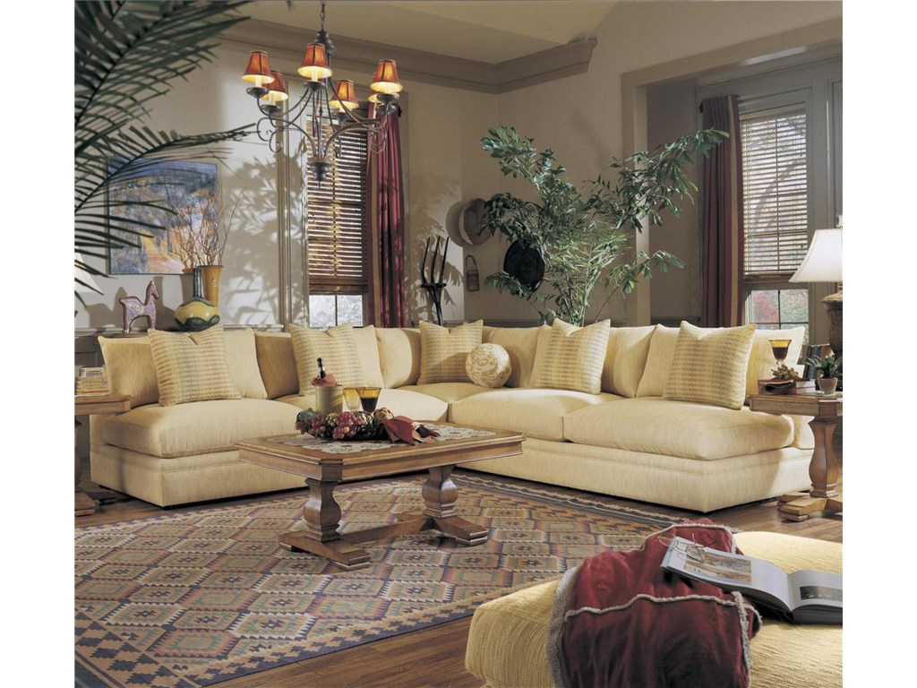 Shown with Two Love Seats as a Sectional