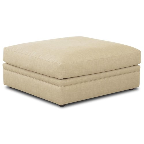 Elliston Place Melrose Place Upholstered Ottoman