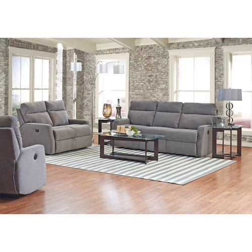 Klaussner Monticello Power Reclining Living Room Group