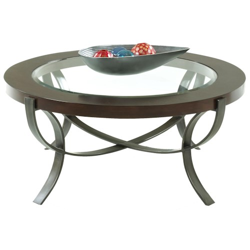 Morris Home Furnishings Sand Bridge Cocktail Table