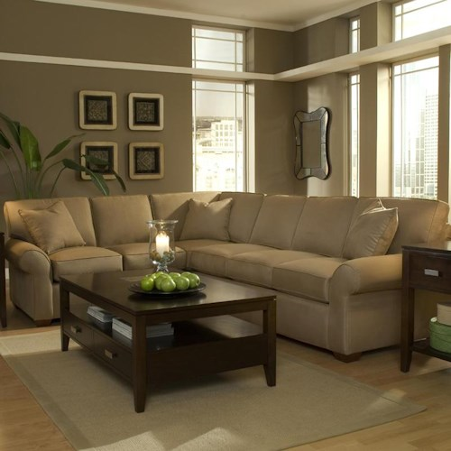 Elliston Place Patterns Sectional Sofa Group