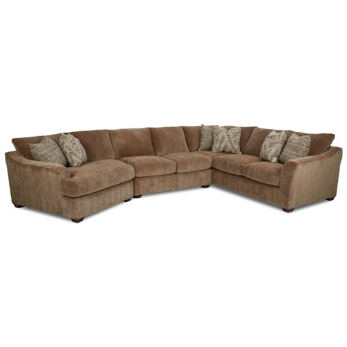 Elliston Place Pinecrest Pinecrest Sectional with LAF Cuddler