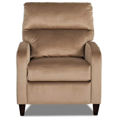 Elliston Place Pocono Contemporary Power High Leg Recliner