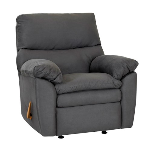 Klaussner Sanders Contemporary Upholstered Reclining Chair