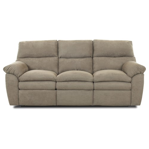 Klaussner Sanders Contemporary Upholstered Reclining Sofa