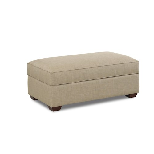 Elliston Place Selection Contemporary Storage Ottoman