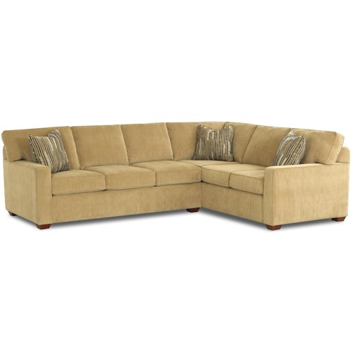 Elliston Place Selection L-Shaped Contemporary Sectional Sofa