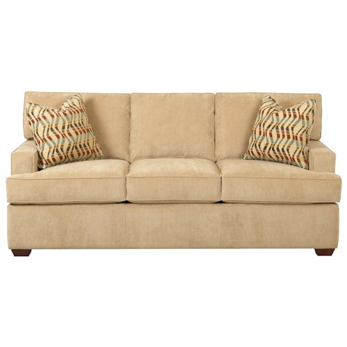 Elliston Place Selection Contemporary Three Seat Sofa